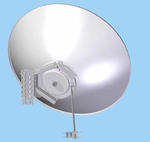 Parabolic antenna JRC-38DD MIMO PriS : Antennas for 5/6 GHz